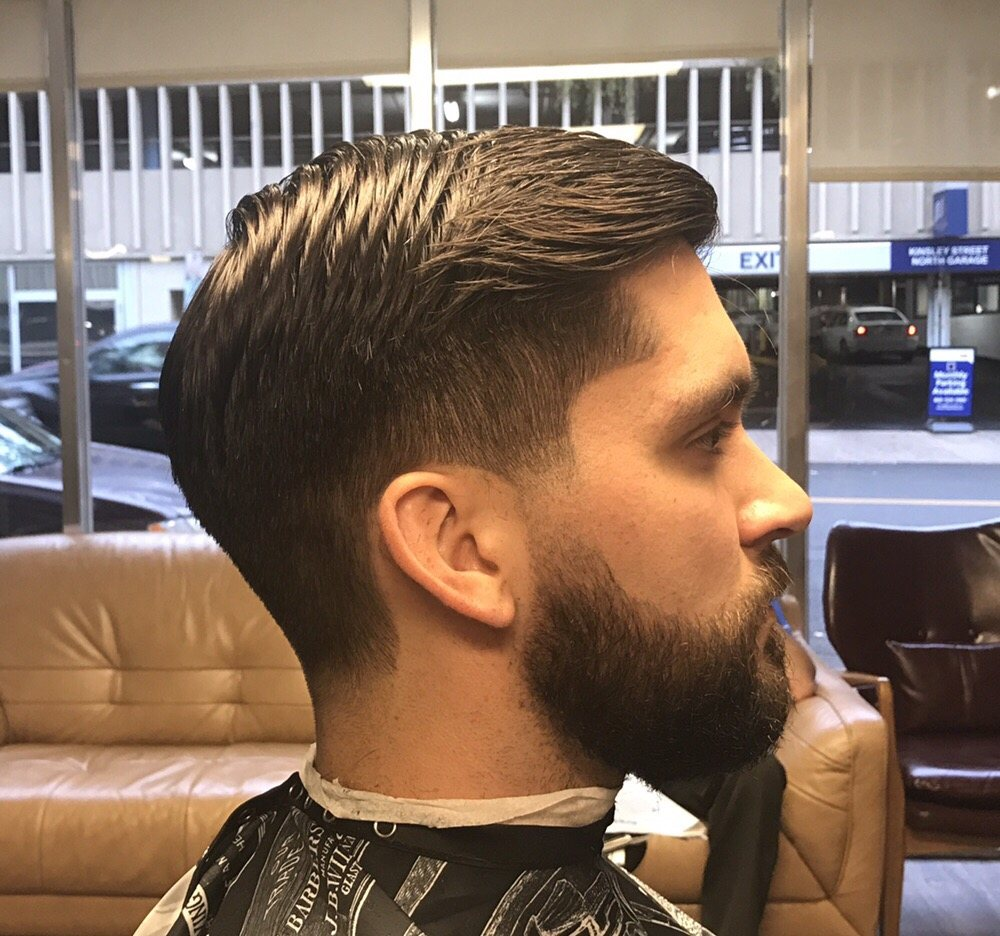 Classicly Tapered Side Part Haircut Yelp