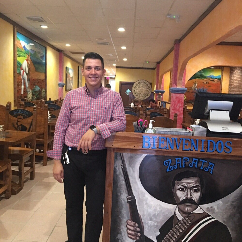 Comment From Adolfo Juan G Of Zapata Mexican Restaurant Business Owner