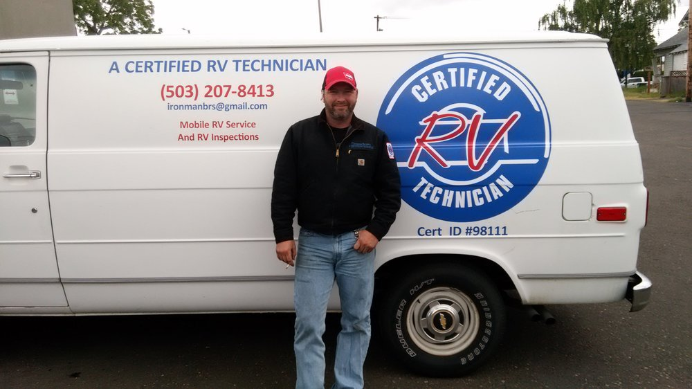 A Certified Rv Technician Rv Repair 18680 So Castle Dr