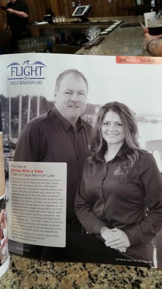 Flight Restaurant On Eagle Mountain Lake