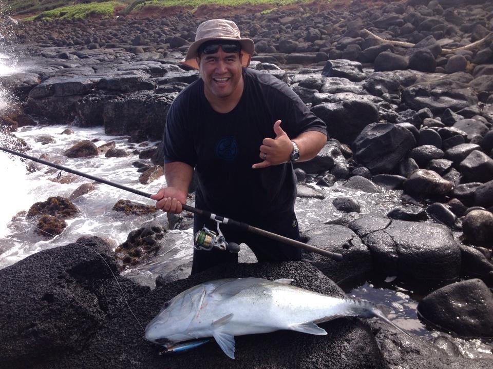 Kauai shoreline fishing adventures closed 10 photos for Kauai fishing report