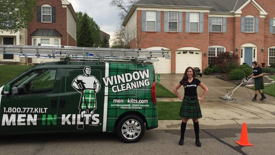 Men In Kilts Cincinnati Window Washing 3116 W