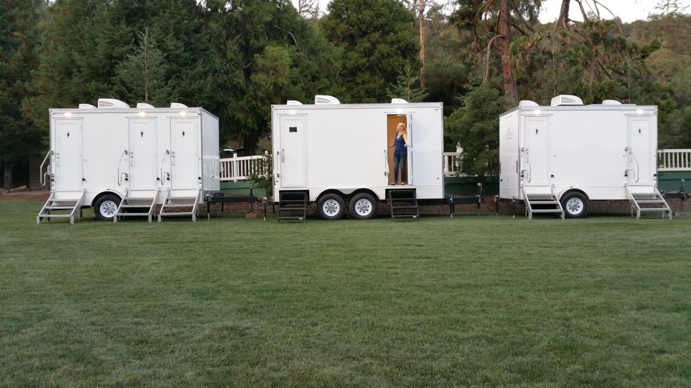 Fancy Flush Restroom Trailer Rental Photos Reviews Party - Bathroom trailer rentals