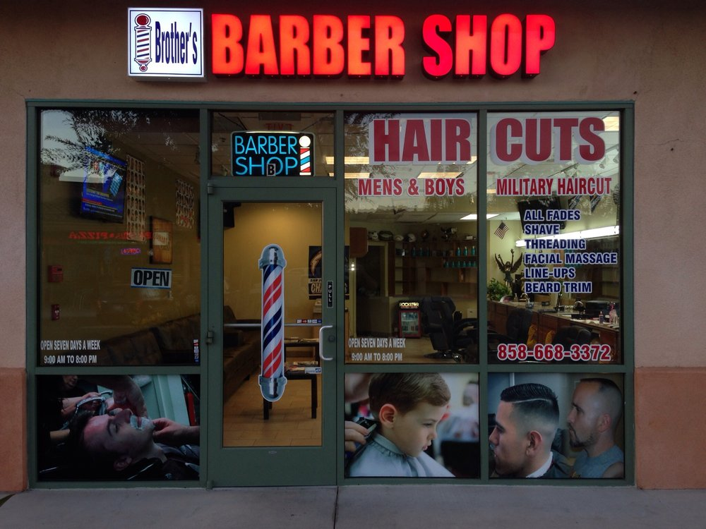 Tonys Barber Shop Closed Barbers 11395 Poway Rd Scripps