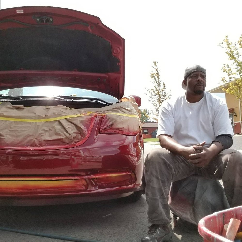 Jb mobile auto paint repairs 42 photos body shops for Mobile auto painting