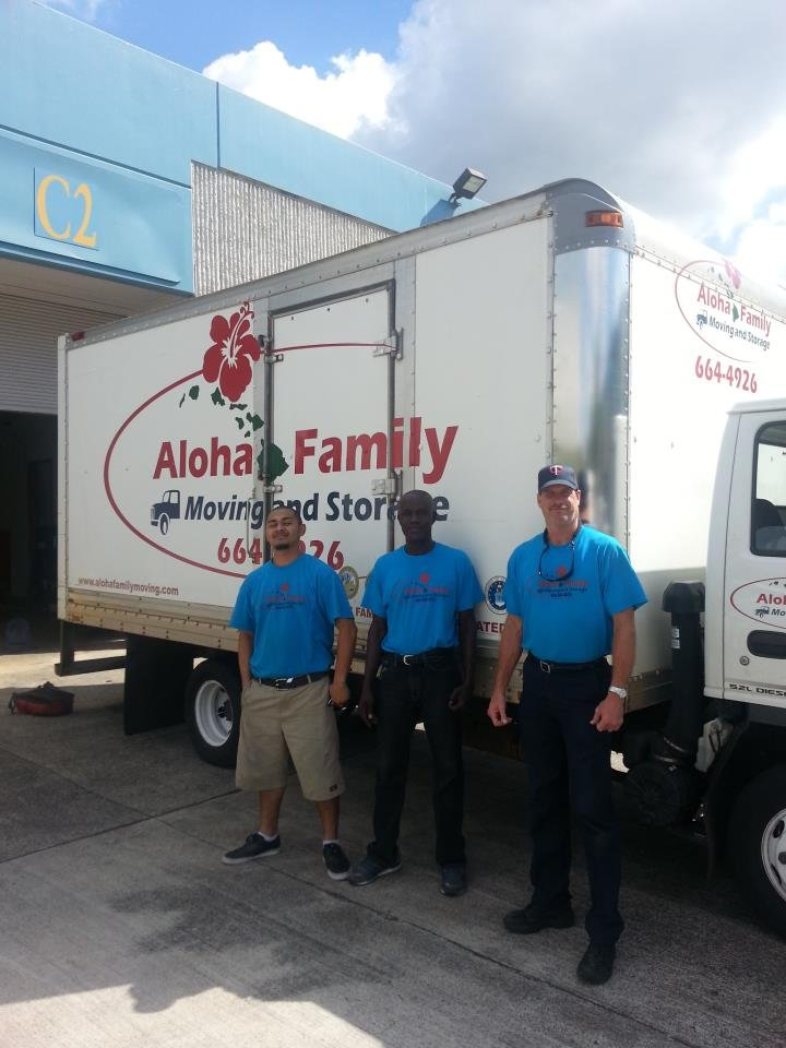Comment From David E Of Aloha Family Moving And Storage Business Owner
