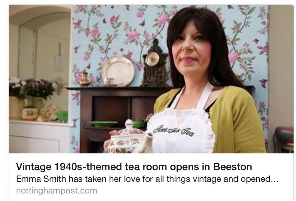 Vintage Tea Rooms In Beeston