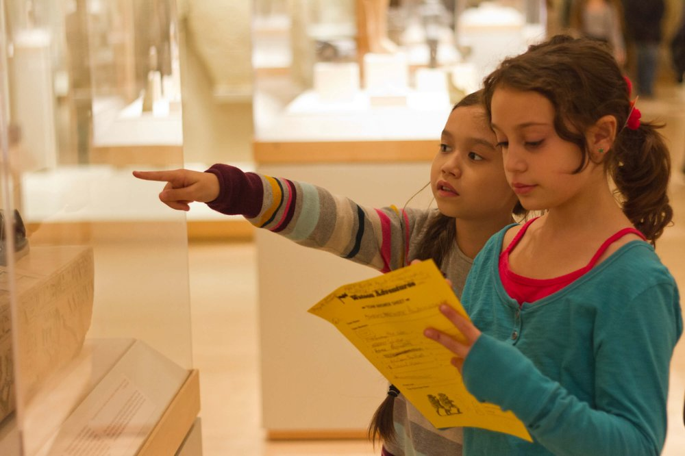 American Museum Of Natural History Scavenger Hunt For Kids