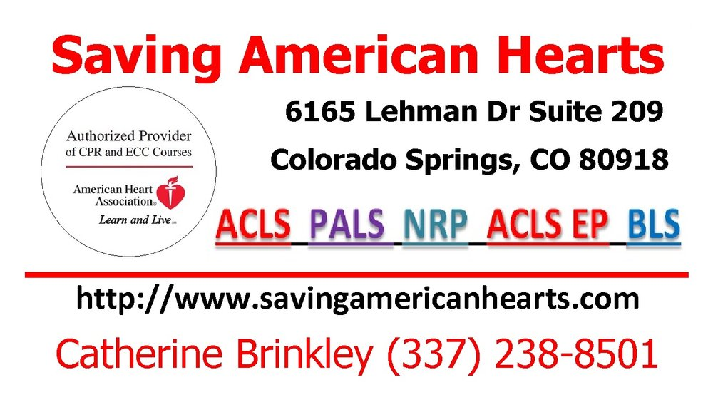 Aha Acls 1 Day Initial Certification 125 Saving American Hearts