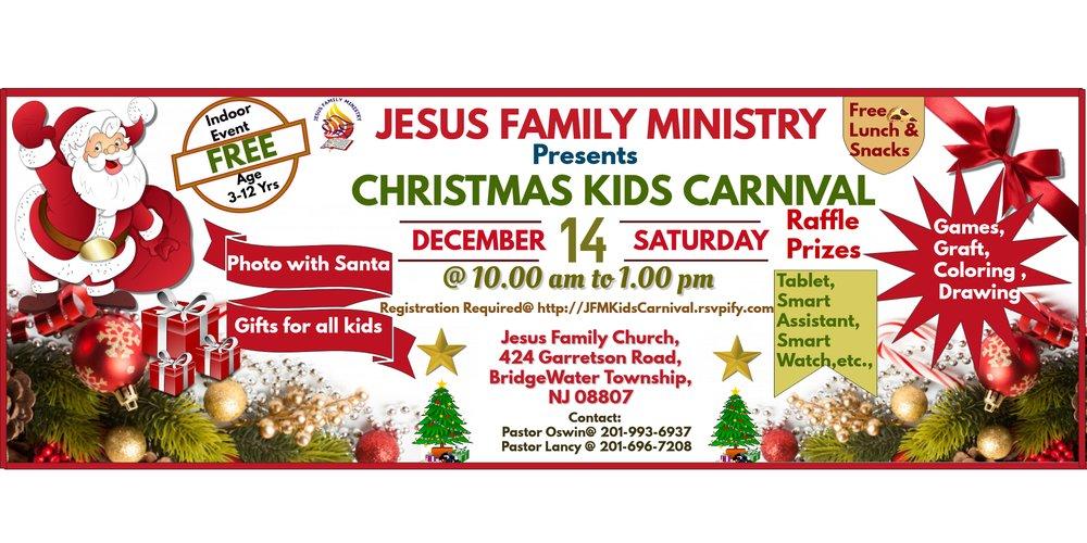 Christmas Kids Carnival @ Bridgewater NJ