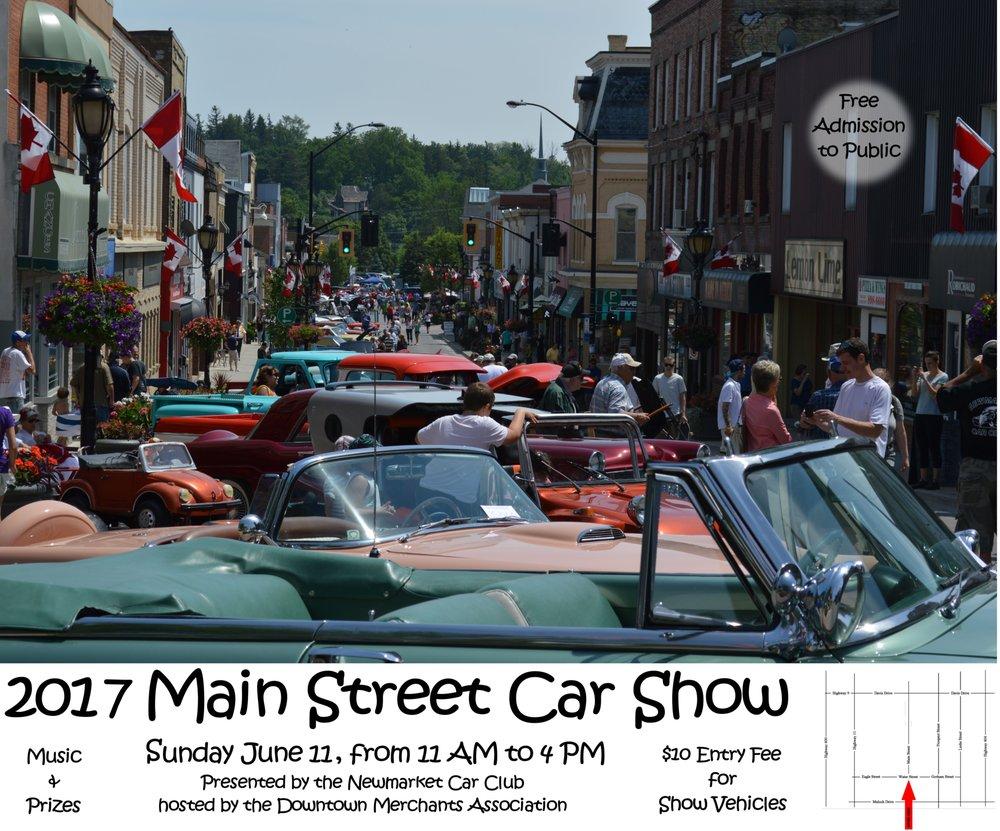 Main Street Car Show Newmarket Events Yelp - Main street car show