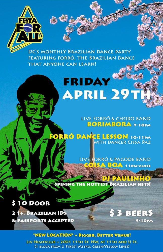 Festa For All Brazilian Forró Dance Party, Washington, DC