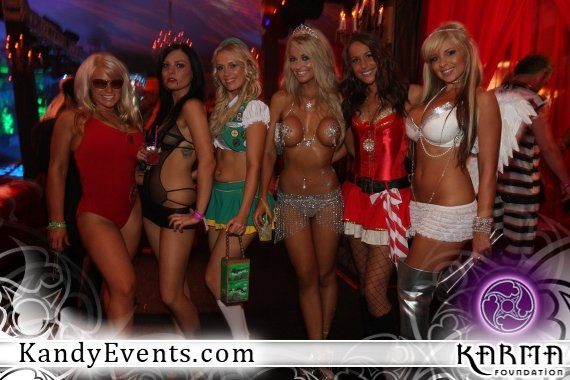 playboy playmates cyber girls and models at the kandy halloween party - Girls Halloween Party