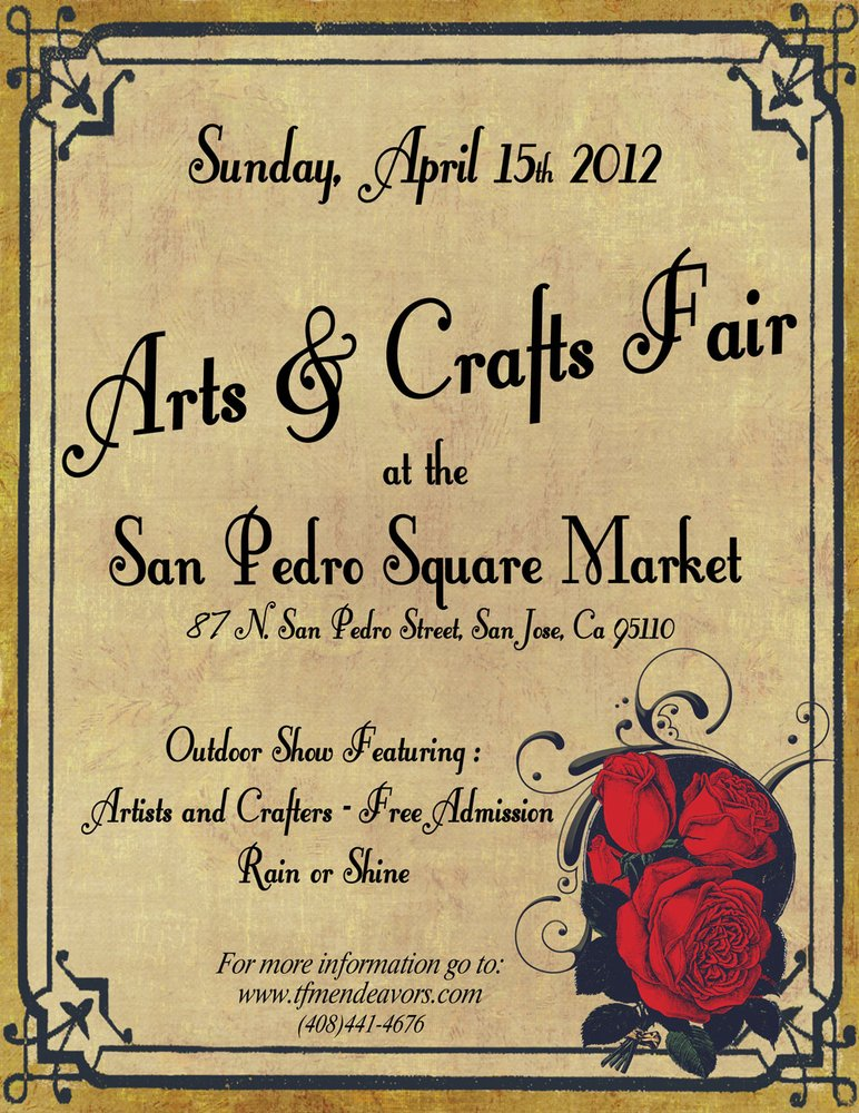 Arts and crafts at san pedro square market san jose for Arts and crafts shows in florida
