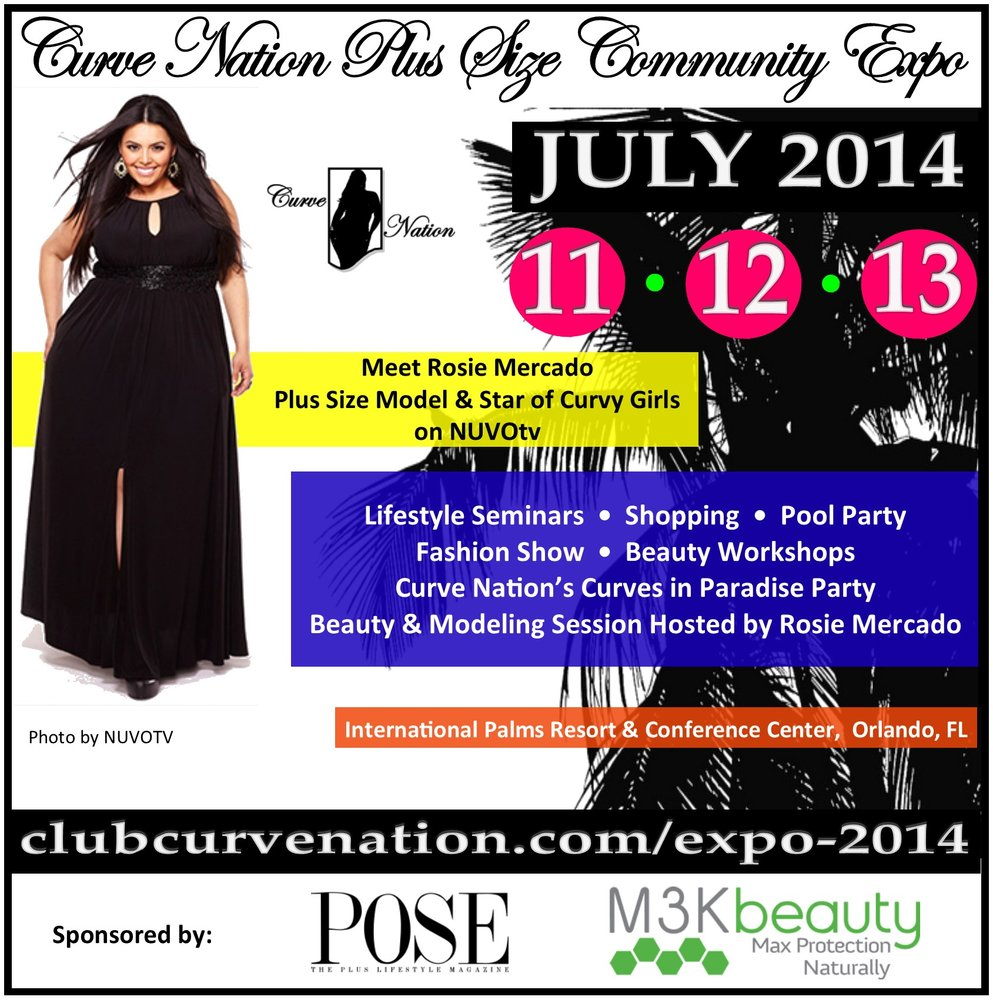 Curve Nation Plus Size Expo Hosted by Rosie Mercado, Orlando ...