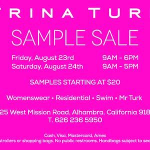 Trina Turk Sample Sale!, Alhambra | Events - Yelp