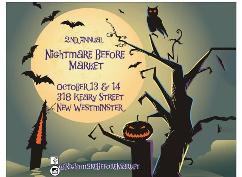 Nightmare Before Christmas Market, New Westminster | Events