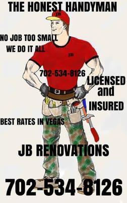 Jb Renovations - Handyman- B.