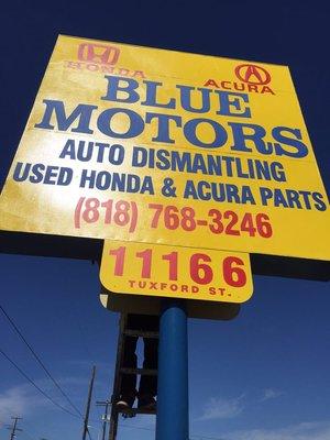 Blue Motors ..