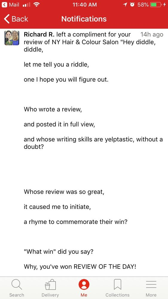 Carolyn F.'s Review